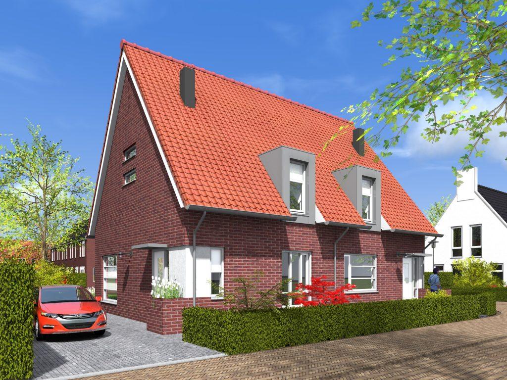 Willem Alexanderhof,twee-onder-een-kap,tweekapper,woning met tuin