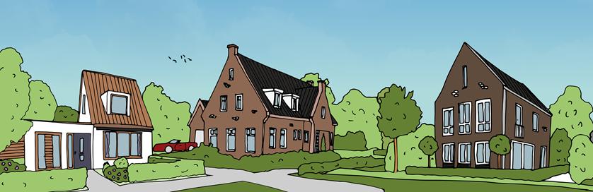 Ontwerp je eigen droomhuis in Willem Alexanderhof